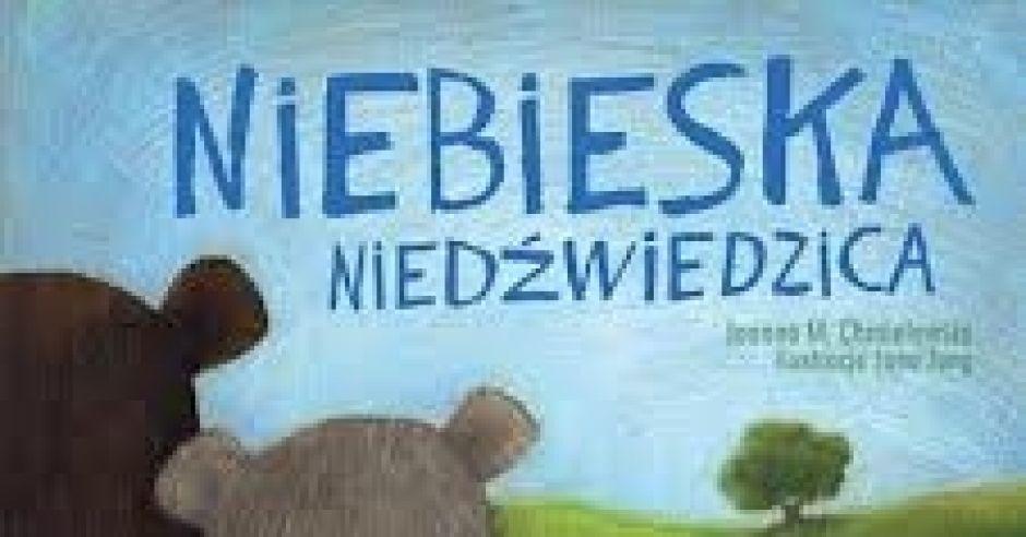 niebieska niedźwiedzica, książka, okładka