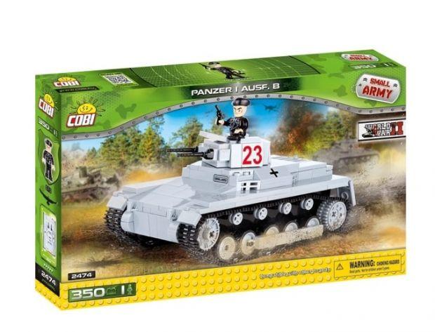 niemiecki czołg klocki Cobi