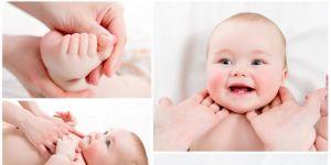 niemowlę, dziecko, ćwiczenia, masaż, masaż niemowlaka, napięcie mięśniowe