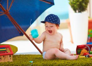 niemowlę a upały