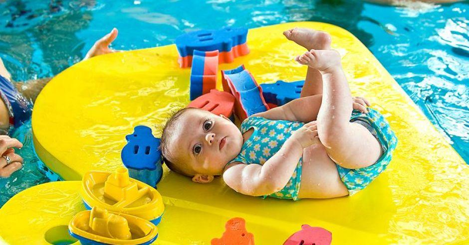 niemowlę, basen