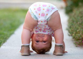 niemowlę dziewczynka
