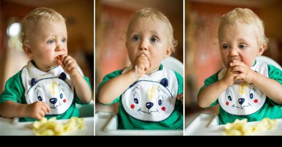 niemowlę je zdrowo