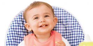 niemowlę, jedzenie, fotelik, miseczka