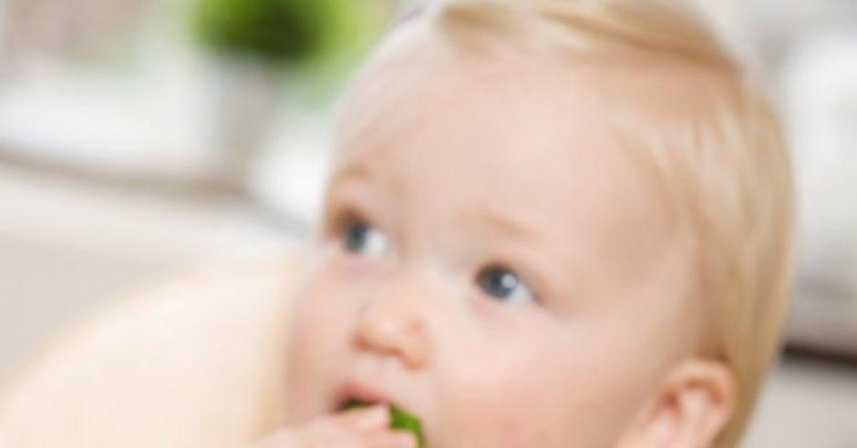 niemowlę, karmienie, warzywa