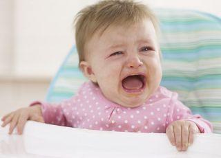 niemowlę, krzyk, fotelik