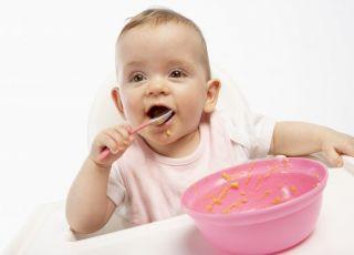 niemowlę, kuchnia, jedzenie, rozszerzanie diety
