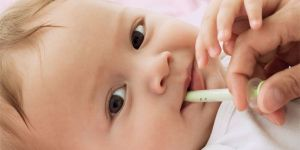 niemowlę, lekarstwo, choroba