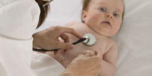 niemowlę, lekarz, badanie