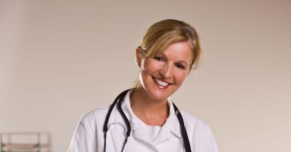 niemowlę, lekarz, badanie, zdrowie