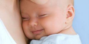 niemowlę, mama, dziecko, uśmiech dziecka