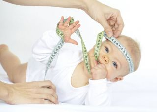 niemowlę, miarka, mierzyć