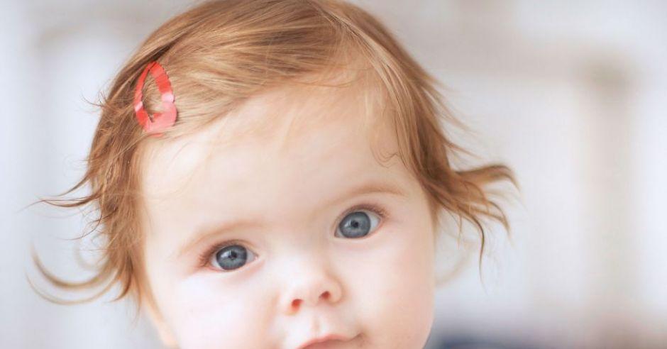 niemowlę, mina