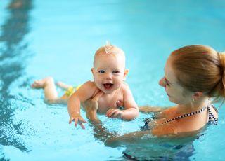 gadżety dla niemowlaka na basen