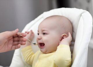 niemowlę nie chce jeść