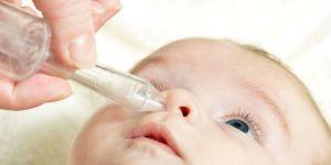 niemowlę, nosek, aspirator do nosa