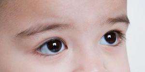 niemowlę, oczy, nos