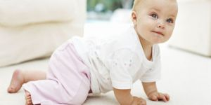 niemowlę, raczkowanie