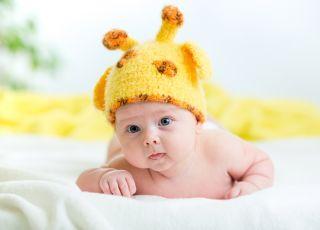 czapeczka dla niemowlaka w upały