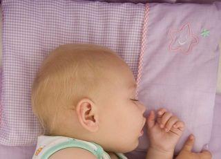 niemowlę, sen, łóżko