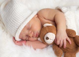 niemowlę, sen, poduszka