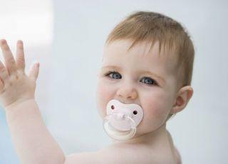 niemowlę, smoczek