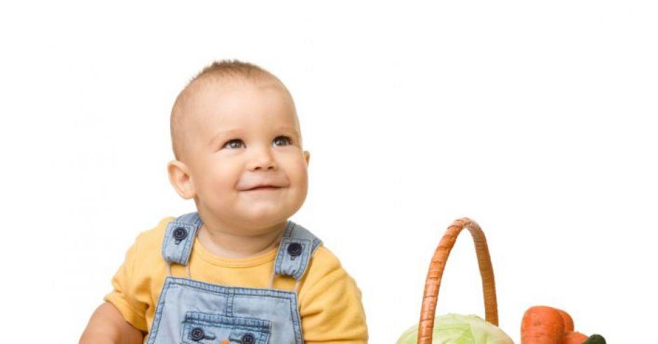niemowlę, warzywa, kuchnia dla malca, koszyk