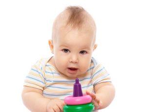 niemowlę, zabawka
