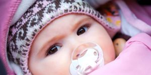 niemowlę, zima