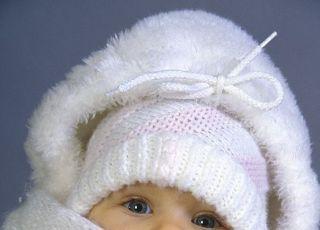 niemowlę, zima, pielęgnacja, czapka, szalik