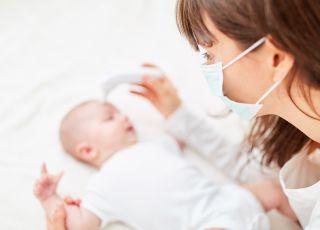 niemowlę zmarło na koronawirusa