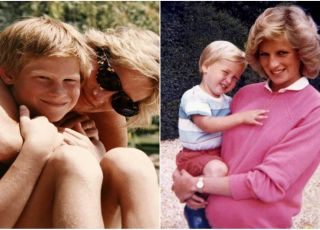 niepublikowane dotąd zdjęcia księżny Diany z synami