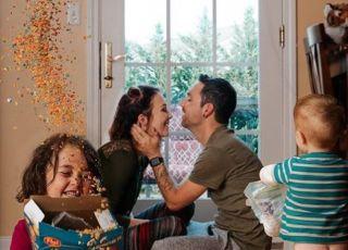Nietypowy portret rodzinny wzruszył internautów