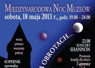 noc muzeów, plakat