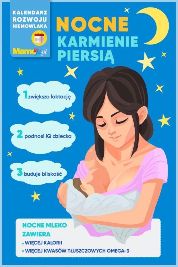Nocne karmienie piersią - korzyści dla dziecka