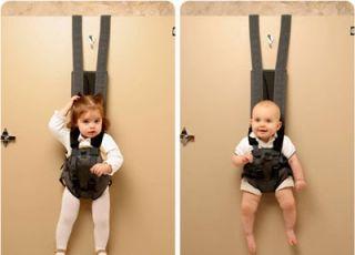 nosidełko dla dzieci, nosidełko dla niemowląt, dziwne gadżety dla dzieci