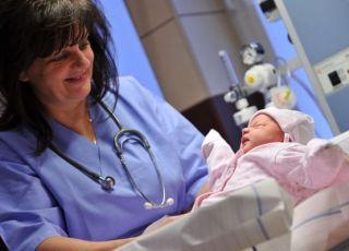 noworodek, szpital
