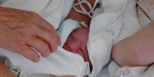 noworodek tuż po porodzie