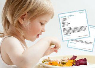 Przepisy na obiad dla dziecka - do druku