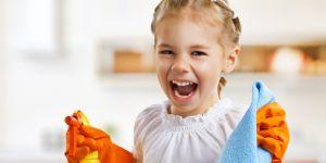 obowiązki dziecka, porządek, sprzątanie