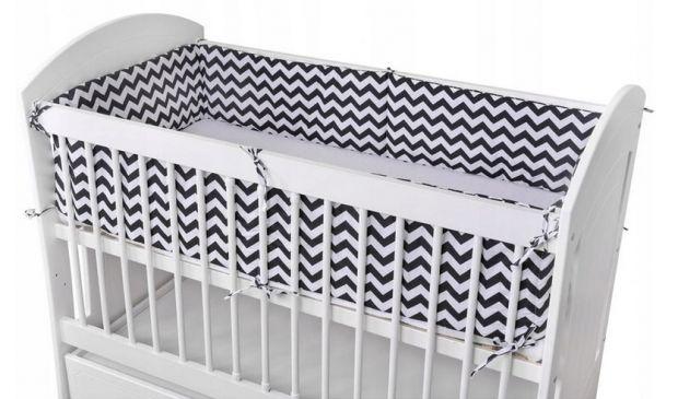 ochraniacz do łóżeczka duży