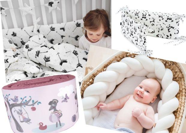 ochraniacze do łóżeczka modne bezpieczne i fajne