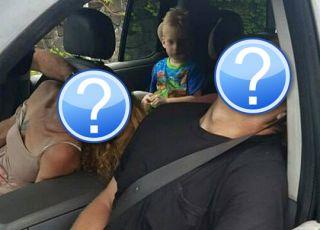 Odurzona narkotykami para jechała samochodem z 4-letnim dzieckim