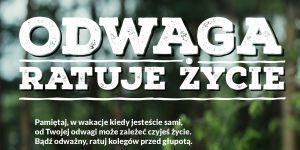 Odwaga ratuje życie - kampania Rzecznika Praw Dziecka