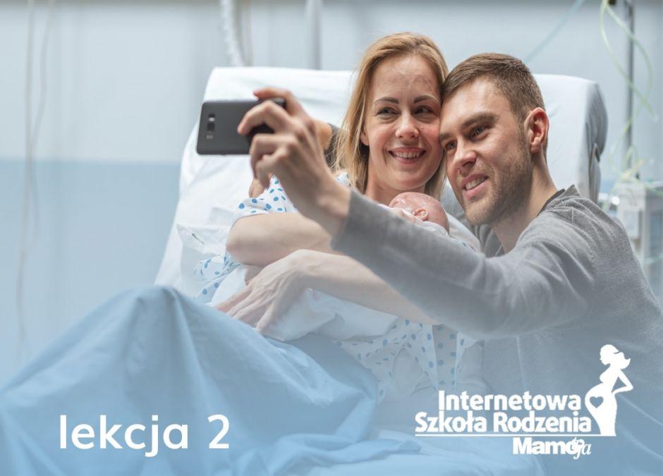 odwiedziny w szpitalu po porodzie