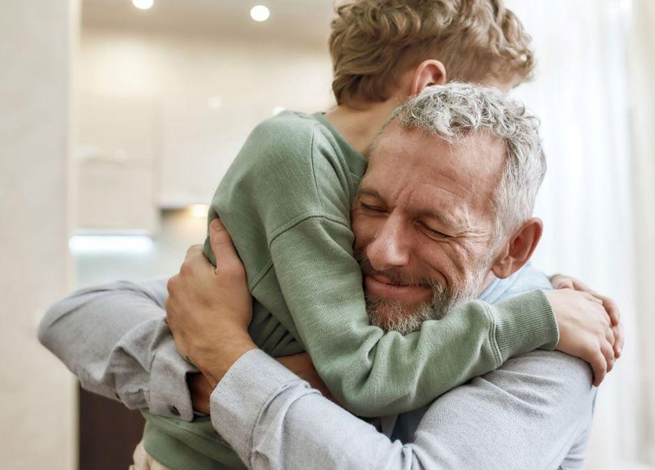 Ojciec był cudownym dziadkiem, ale kiepskim tatą