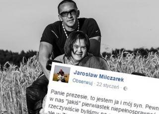 Ojciec chłopca z zespołem Downa ostro krytykuje wypowiedź Jarosława Kaczyńskiego