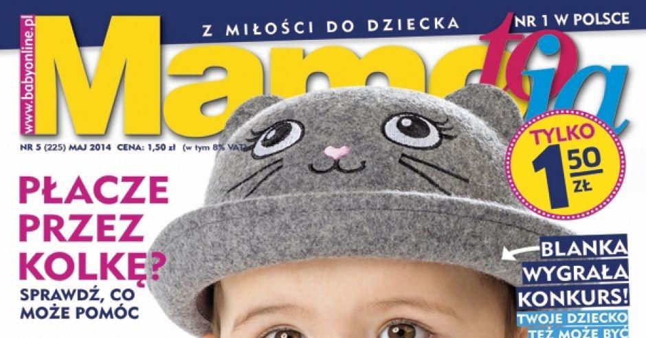 okładka Mamo, To Ja numer 5/2014