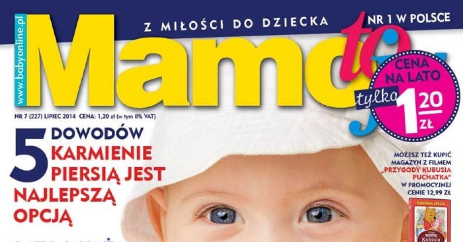 okładka Mamo To Ja numer 7/2014