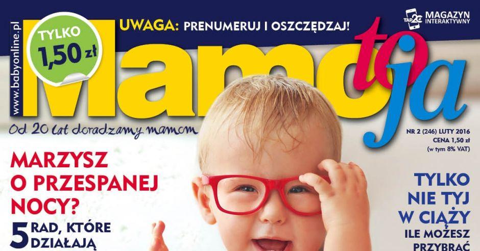 okładka Mamo, To Ja numer lutowy 2016